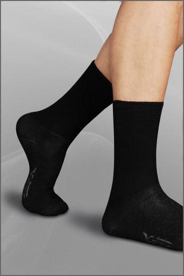 Knitting Pattern For Diabetic Socks : Diabetic Socks Silver Knitted Diabetic Socks ECO S?LVER